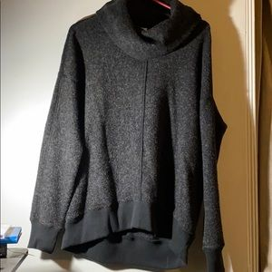 A&F cowl neck sweater
